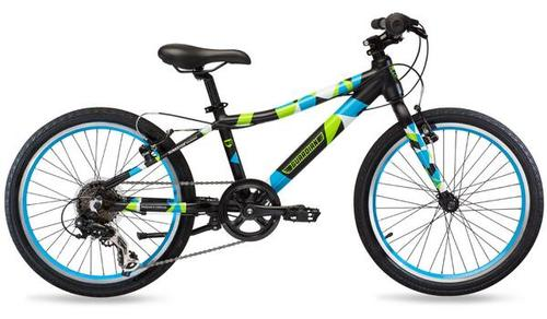 20in 6-Speed Blue & Green Kids Bike – GuardianBikes
