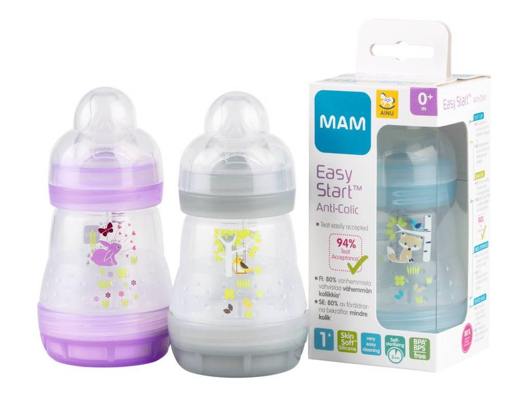 Ainu MAM Easy Start Anti-Colic tuttipullo