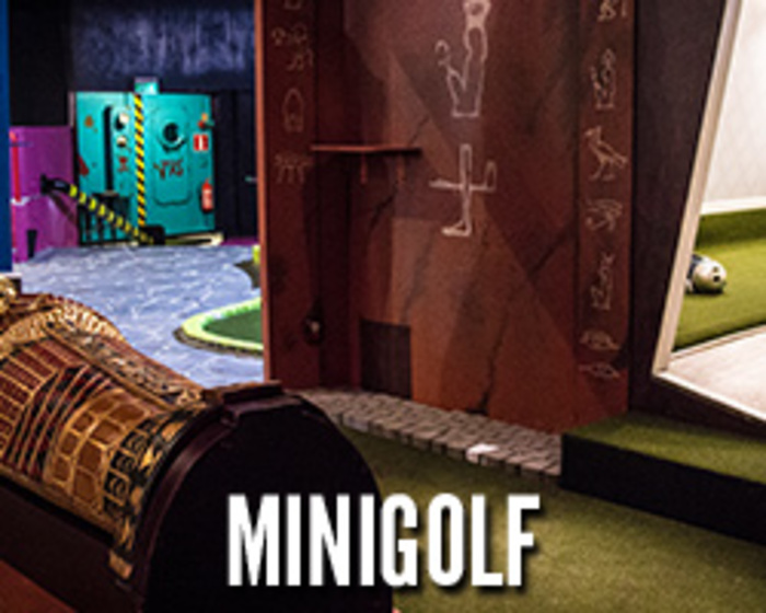 Crazy Golf - minigolf ja curling