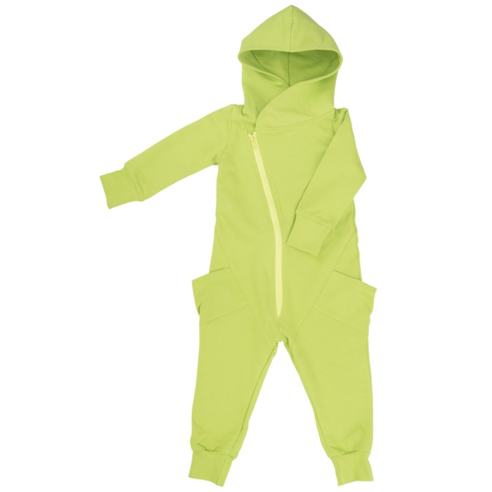 Jumpsuit - Green/lime